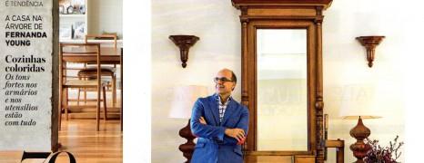 Arnaldo Danemberg na Casa Cláudia!