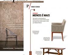 Lumini na revista da folha