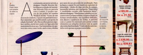 Casa Estadão destaca coleção de luminárias Sintonia Fina