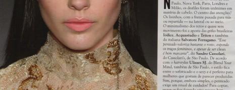 CARAS: Sandro Cassolari comenta a tendência de penteado nas passarelas da moda