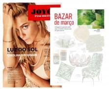 Bauhaus Tecidos na Revista Joice Pascowitch