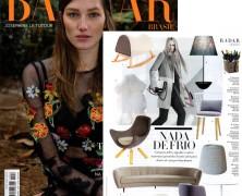 MaxDesign e Lumini na Harper's Bazaar
