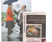 Toro Sushi no Guia Folha!
